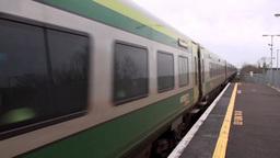 Intercity Train 1 Stock Video Footage