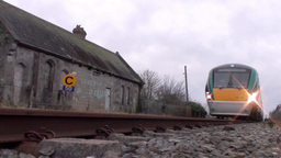 Intercity Train 3 Stock Video Footage