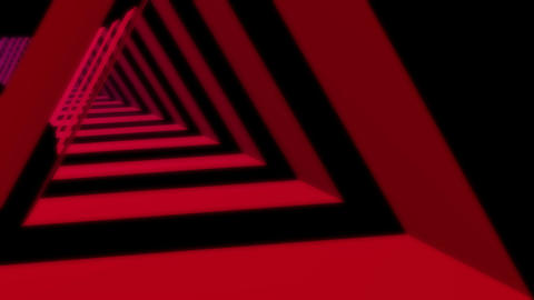 triangle stripes colors Stock Video Footage