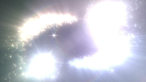 Light streaks and particles 2 Br 1a 2f HD Stock Video Footage