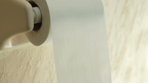 Toilet Paper Time Lapse Stock Video Footage