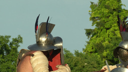 gladiator game Hoplomachus Thraex 01 Footage
