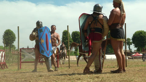 gladiator training Secutor Secutor 01 Footage