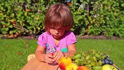 Little girl Stock Video Footage