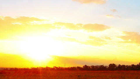 sunset Stock Video Footage