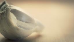 Close up Garlic clove Stock Video Footage