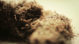 Hand Rolling Tobacco Stock Video Footage