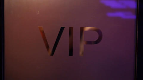 VIP Room stock footage