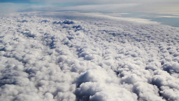 Fly thru sky Stock Video Footage