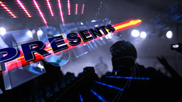 Concert Presentation stock footage