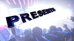 Concert Presentation Stock Video Footage