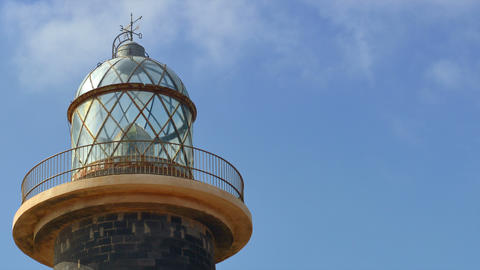 4k UHD lighthouse and clouds time lapse close 1119 Footage