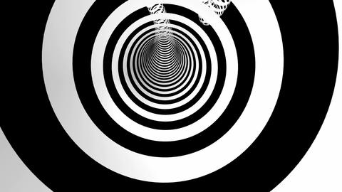 hyperspeed rings tunnel Animation