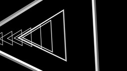 triangle outline tunnel Animation