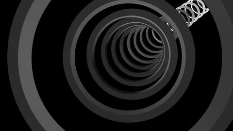 rings cyclic tunnel Animation