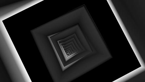 square array tunnel Animation