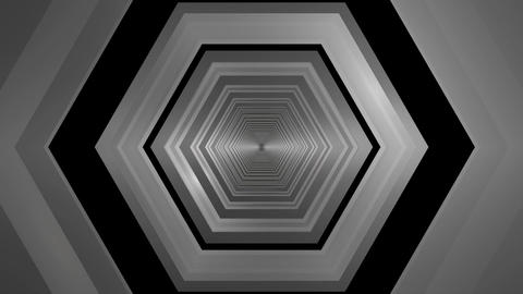hexagonal tunnel infiity Animation