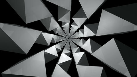 3D kaleidoscope infinite Stock Video Footage