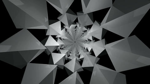 3D kaleidoscope infinite Animation