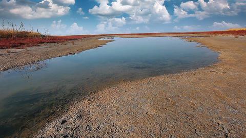 steppe landscape Footage