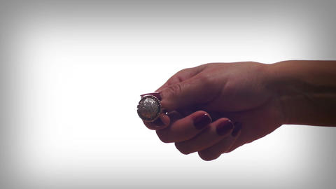 Diamond Ring Couple Breakup Stock Video Footage