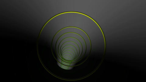 circle rings tunnel Stock Video Footage