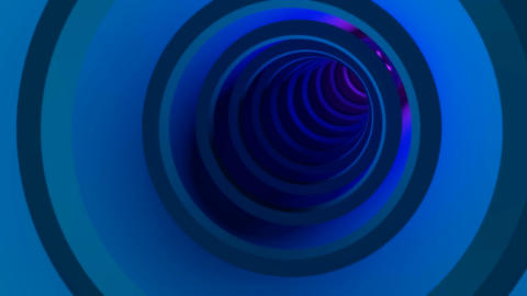 tube rings tunnel Stock Video Footage