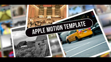Wall Opener Apple-Motion-Projekt