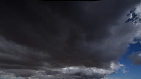 extreme dark storm clouds to sun time lapse 11222 Footage