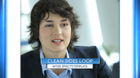 Clean Sides Loop - After Effects Template After Effects Template