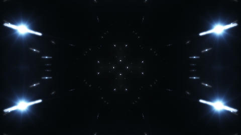 kaleidoscope Particle SF A 02b HD Stock Video Footage
