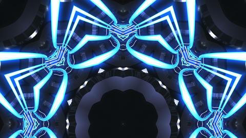 kaleidoscope SF A 01d 2 HD Stock Video Footage