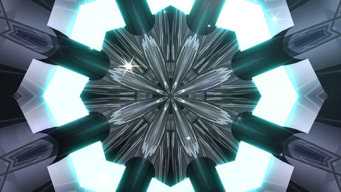 kaleidoscope SF A 01f HD Animation