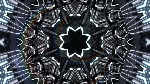 kaleidoscope SF A 01f HD Stock Video Footage