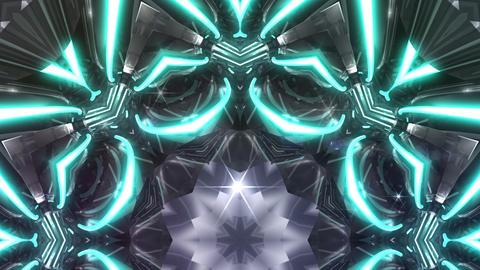 kaleidoscope SF A 01nn 2 HD Stock Video Footage