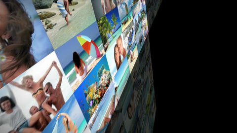 imagewall 042 Apple Motion Template