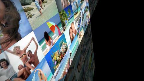 imagewall 042 Plantilla de Apple Motion