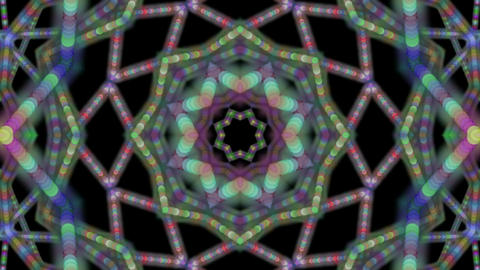 dotted line kaleidoscope Animation