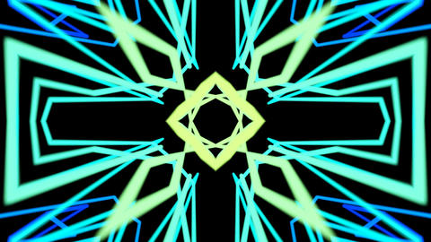 ethnic abstract lines Stock Video Footage