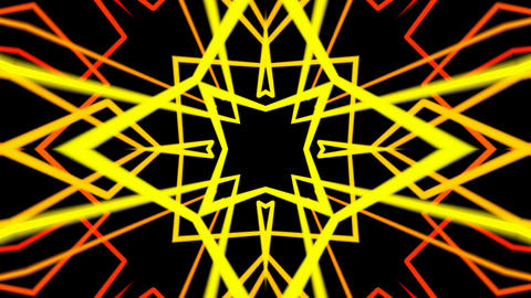 ethnic abstract lines Animation