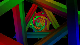 twirly triangle color Animation