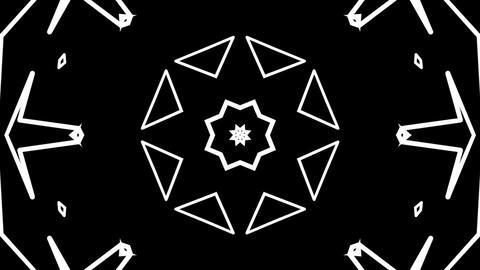 dotted matte kaleidoscope Stock Video Footage