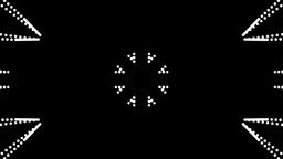 star luminance decoration Stock Video Footage