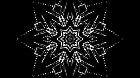dancing starlish matte Animation