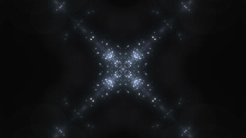 kaleidoscope particles 2 Ar 1a 2 HD Stock Video Footage