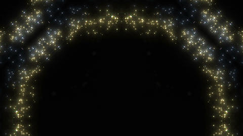kaleidoscope particles 2 B 1a 2 HD Stock Video Footage