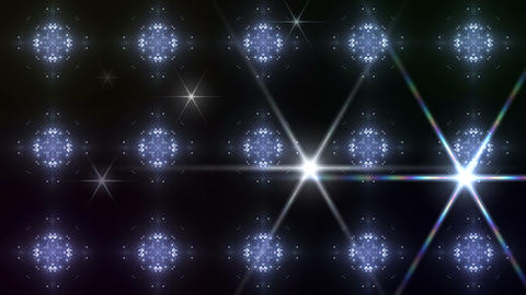 kaleidoscope particles 2 B 3a HD Stock Video Footage