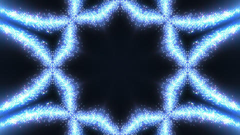 kaleidoscope particles 2 C 0a HD Stock Video Footage