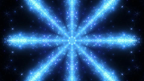 kaleidoscope particles 2 C 2a HD Stock Video Footage