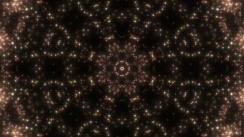 kaleidoscope particles 2 Cr 2a 2 HD Stock Video Footage